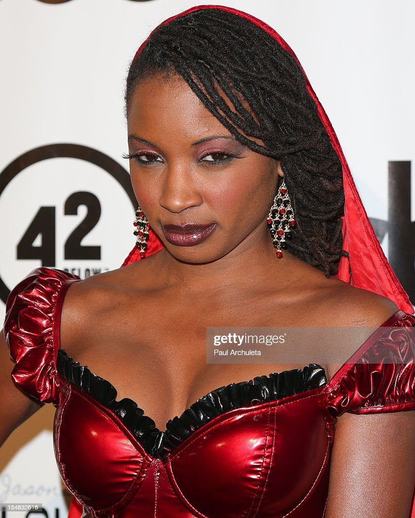 Actress Shanola Hampton attends Fred & Jason's annual Halloweenie charity event at The Lot on October 26, 2012 in West Hollywood, California.