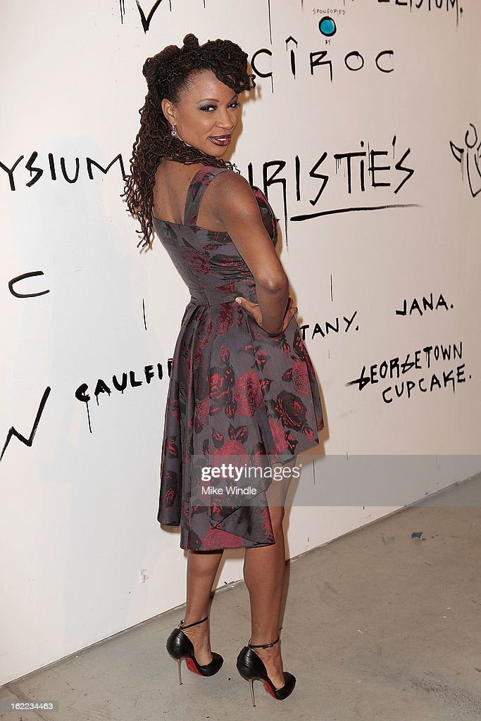 Actress Shanola Hampton attends The Art Of Elysium's 6th annual 'Pieces Of Heaven' powered by Ciroc Ultra Premium Vodka at Ace Museum on February 20, 2013 in Los Angeles, California.