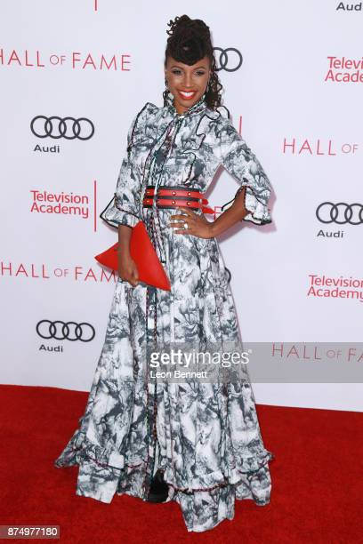 Actress Shanola Hampton attends the Television Academy's 24th Hall Of Fame Ceremony at Saban Media Center on November 15 2017 in North Hollywood...