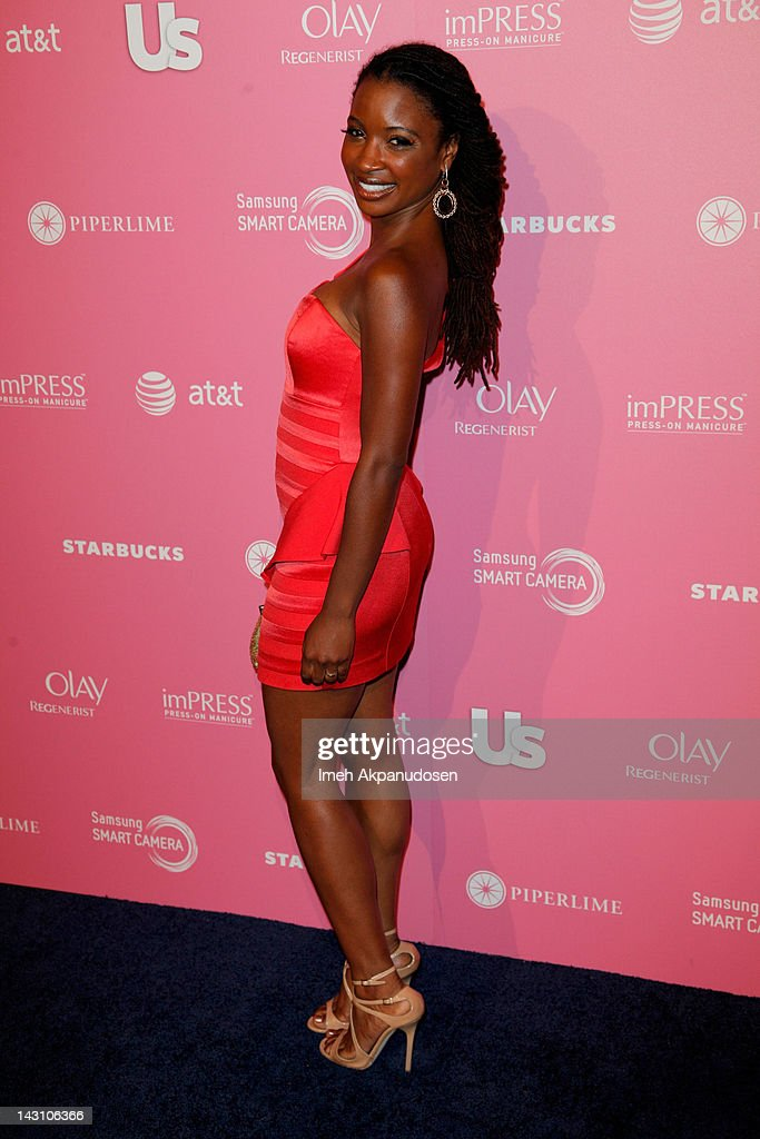 Actress Shanola Hampton attends the Us Weekly Hot Hollywood Style Event at Greystone Manor Supperclub on April 18, 2012 in West Hollywood, California.