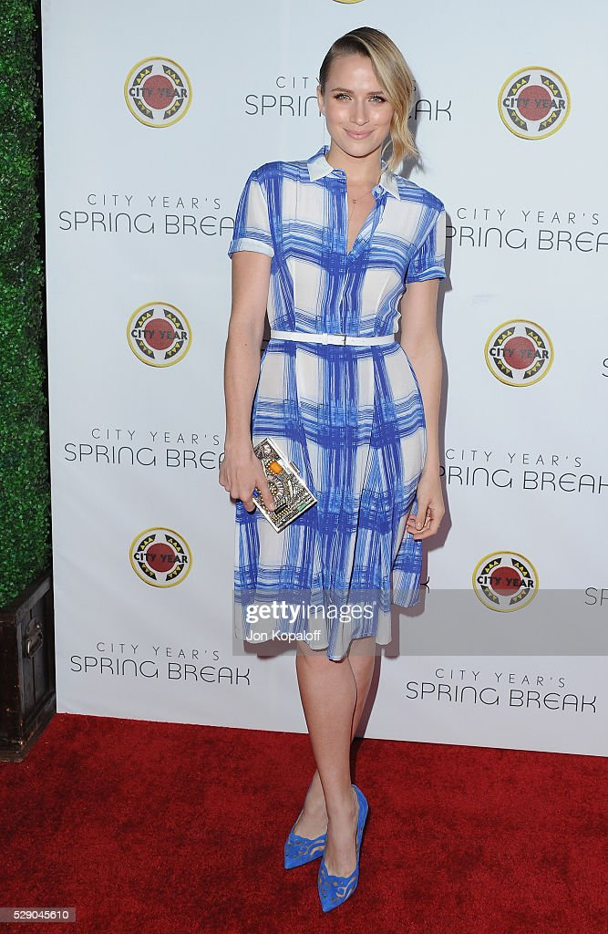 Actress Shantel VanSanten arrives at City Year Los Angeles' Spring Break: Destination Education at Sony Pictures Studios on May 7, 2016 in Culver City, California.