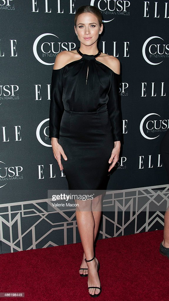 Actress <a gi-track='captionPersonalityLinkClicked' href=/galleries/search?phrase=Shantel+VanSanten&family=editorial&specificpeople=4433467 ng-click='$event.stopPropagation()'>Shantel VanSanten</a> arrives at ELLE's 5th Annual Women In Music Concert Celebration Presented by CUSP By Neiman Marcus at Avalon on April 22, 2014 in Hollywood, California.