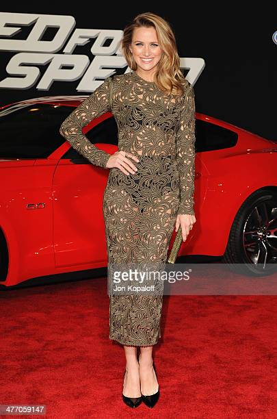Actress Shantel VanSanten arrives at the Los Angeles Premiere 'Need For Speed' at TCL Chinese Theatre on March 6 2014 in Hollywood California