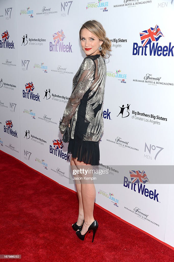 Actress Shantel VanSanten attends BritWeek Celebrates Downton Abbey at The Fairmont Miramar Hotel on May 3, 2013 in Santa Monica, California.