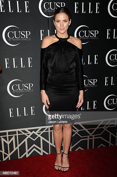 Actress Shantel VanSanten attends ELLE's 5th annual Women In Music concert celebration at Avalon on April 22 2014 in Hollywood California