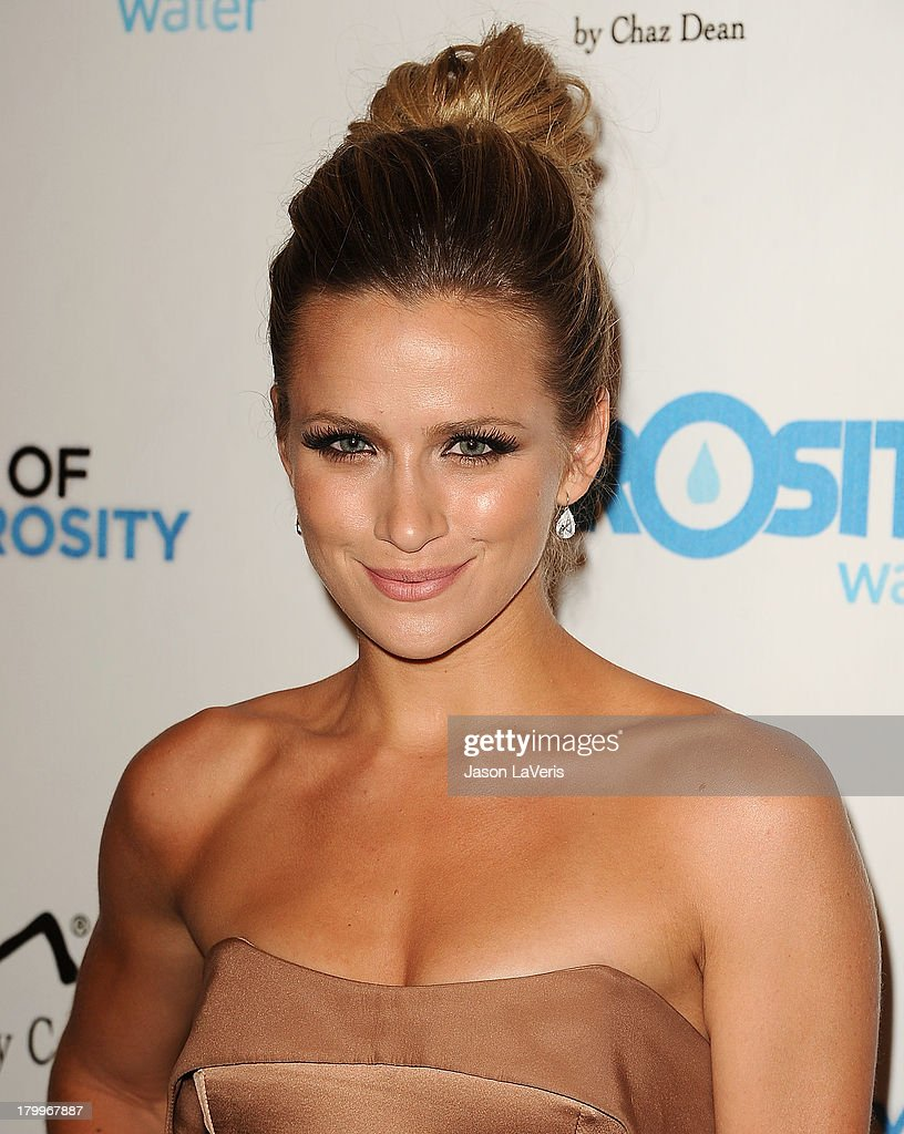 Actress Shantel VanSanten attends Generosity Water's 5th annual Night of Generosity benefit at Beverly Hills Hotel on September 6, 2013 in Beverly Hills, California.
