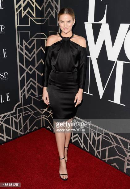 Actress Shantel VanSanten attends the 5th Annual ELLE Women in Music Celebration presented by CUSP by Neiman Marcus Hosted by ELLE EditorinChief...