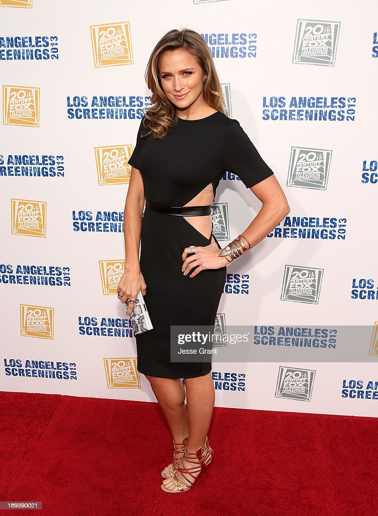 Actress Shantel VanSanten attends the Twentieth Century Fox Television Distribution's 2013 LA Screenings Lot Party at Twentieth Century Fox Studio Lot on May 23, 2013 in Los Angeles, California.