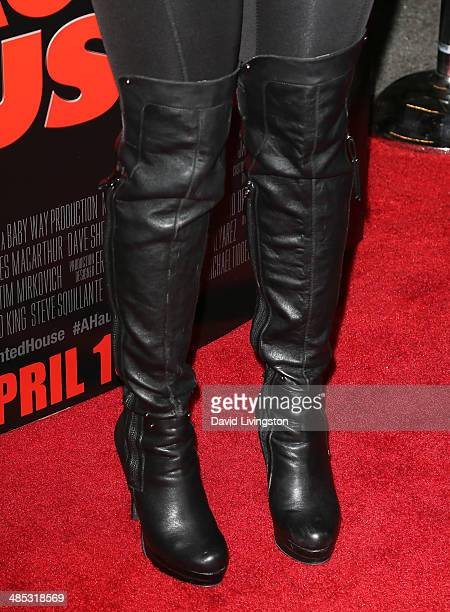 Actress Shar Jackson attends the premiere of Open Road Films' 'A Haunted House 2' at Regal Cinemas LA Live on April 16 2014 in Los Angeles California