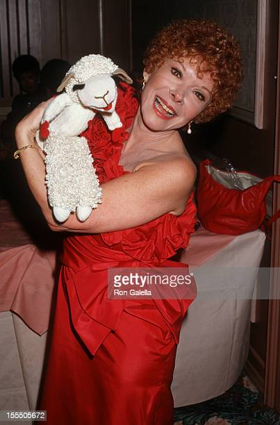 Actress Shari Lewis attends Third Annual AAPAA Media Awards on March 23 1987 at the Beverly Hilton Hotel in Beverly Hills California