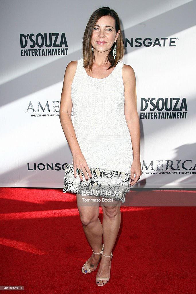 Actress Shari Rigby attends the 'America' Los Angeles premiere held at the Regal Cinemas L.A. Live on June 30, 2014 in Los Angeles, California.