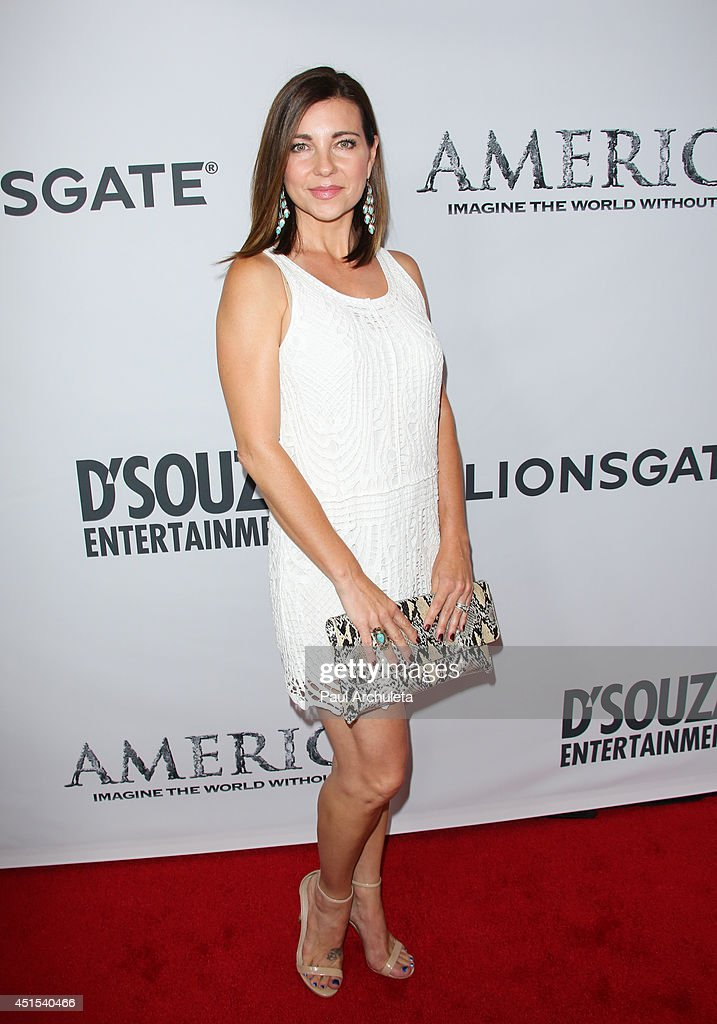 Actress Shari Rigby attends the premiere of 'America' at Regal Cinemas L.A. Live on June 30, 2014 in Los Angeles, California.
