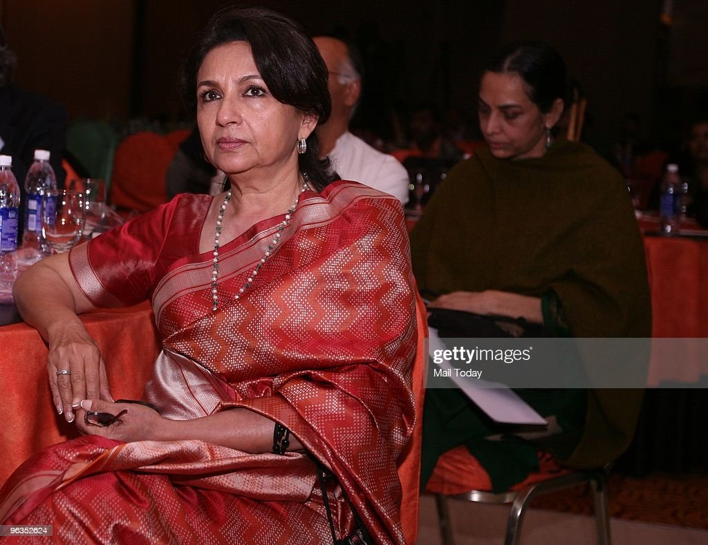 Actress Sharmila Tagore at an event in Delhi on February 1, 2010.
