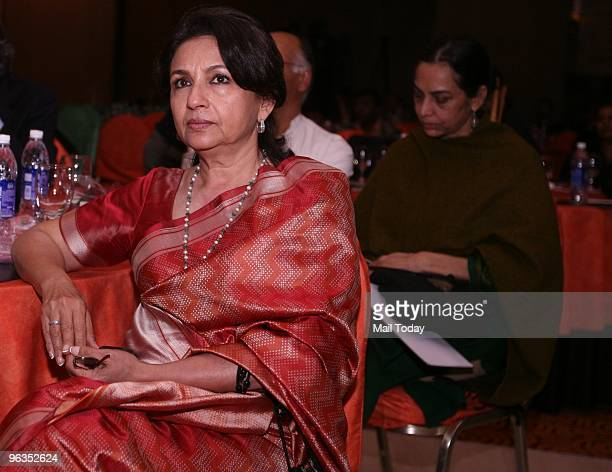 Actress Sharmila Tagore at an event in Delhi on February 1 2010