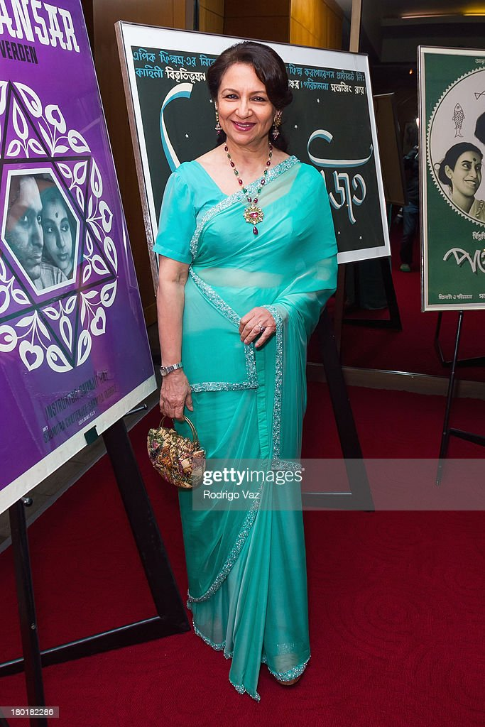 Actress Sharmila Tagore attends the Academy of Motion Picture Arts and Sciences' Screening of 'Apur Sansar (The World Of Apu)' at AMPAS Samuel Goldwyn Theater on September 9, 2013 in Beverly Hills, California.