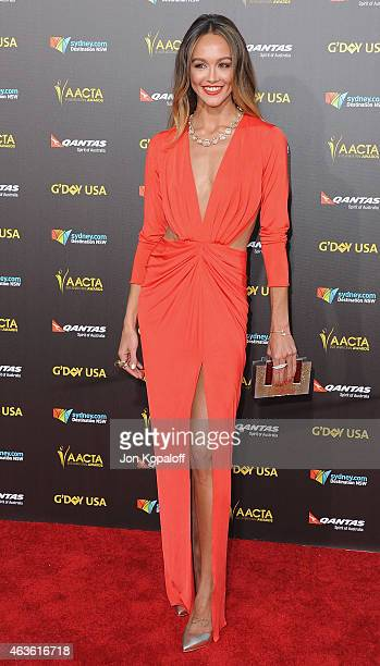 Actress Sharni Vinson arrives at the 2015 G'Day USA Gala Featuring The AACTA International Awards Presented By Quantas at Hollywood Palladium on...