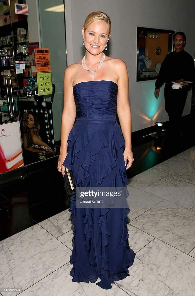 Actress Sharon Case attends the 36th Annual Daytime Emmy Awards after party on August 30, 2009 in Los Angeles, California.