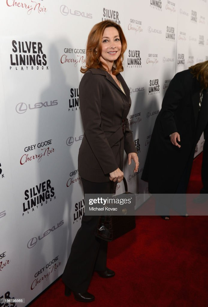 Actress Sharon Lawrence attends a special screening of 'Silver Linings Playbook' presented by The Weinstein Company sponsored by Grey Goose and Lexus at AMPAS Samuel Goldwyn Theater on November 19, 2012 in Beverly Hills, California.