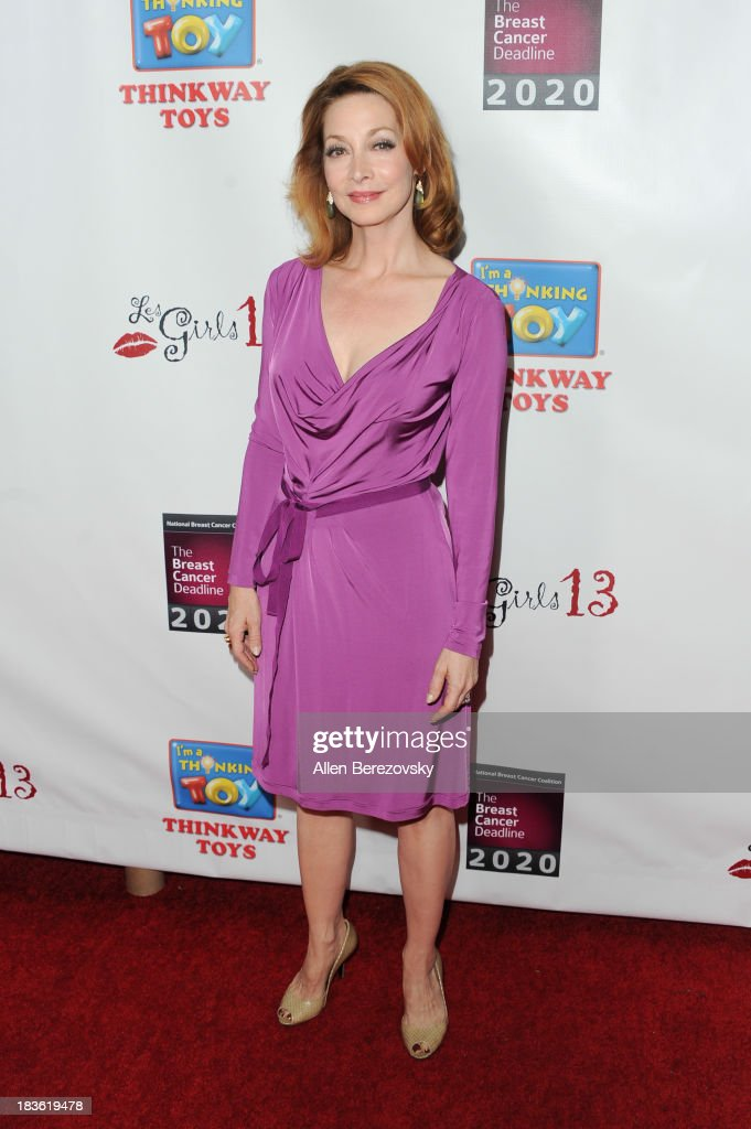 Actress <a gi-track='captionPersonalityLinkClicked' href=/galleries/search?phrase=Sharon+Lawrence&family=editorial&specificpeople=202246 ng-click='$event.stopPropagation()'>Sharon Lawrence</a> attends the 13th annual Les Girls benefiting the National Breast Cancer Coalition Fund at Avalon on October 7, 2013 in Hollywood, California.