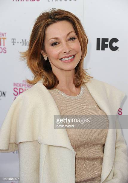 Actress Sharon Lawrence attends the 2013 Film Independent Spirit Awards at Santa Monica Beach on February 23 2013 in Santa Monica California