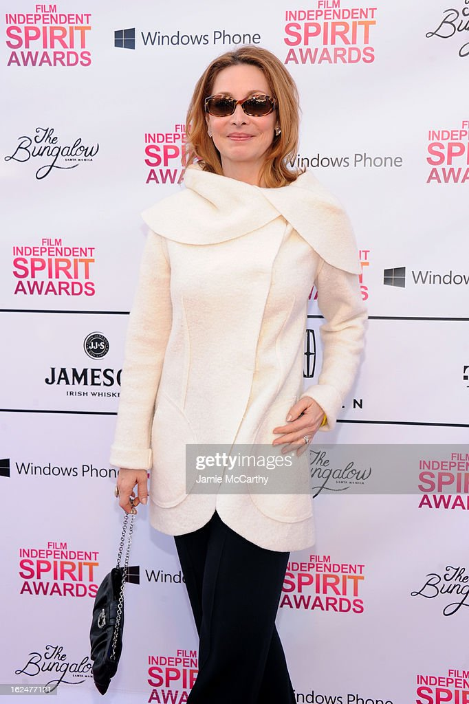 Actress Sharon Lawrence attends the 2013 Film Independent Spirit Awards After Party hosted by Microsoft Windows Phone at The Bungalow at The Fairmont Hotel on February 23, 2013 in Santa Monica, California.