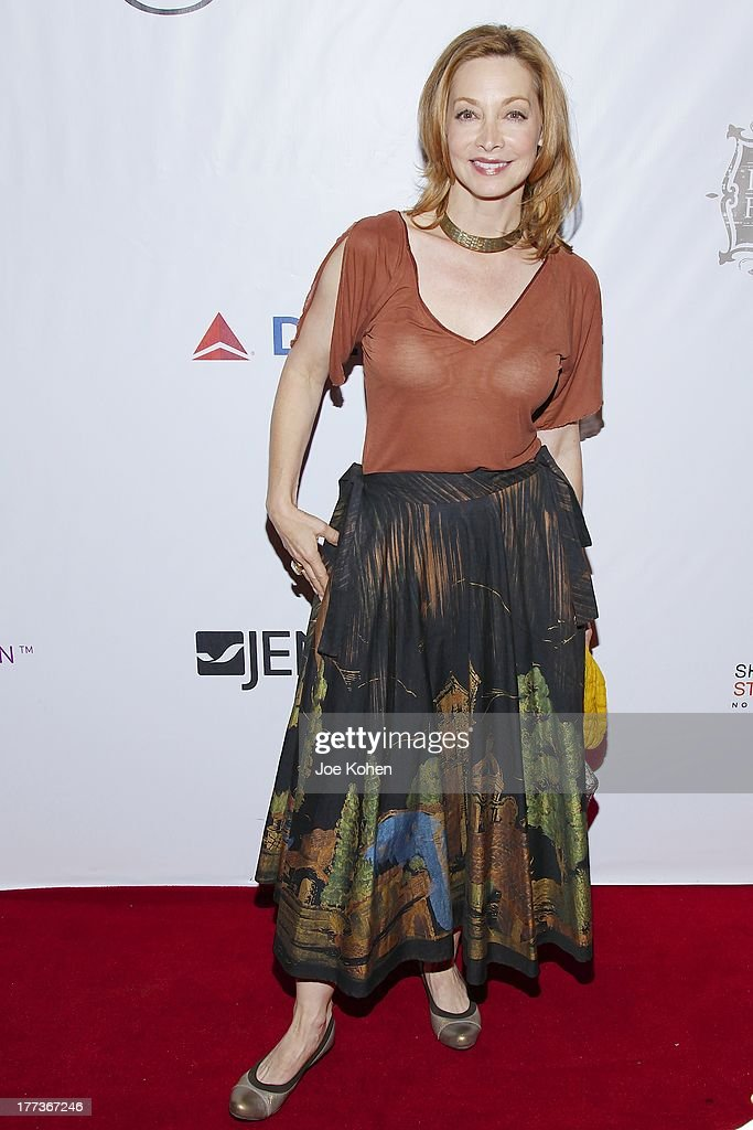 Actress Sharon Lawrence attends the 2013 Los Angeles Food & Wine Festival 'Festa Italiana With Giada De Laurentiis' Opening Night Gala on August 22, 2013 in Los Angeles, California.