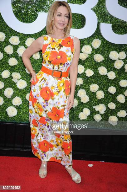Actress Sharon Lawrence attends the 2017 Summer TCA Tour CBS Television Studios' Summer Soiree at CBS Studios Radford on August 1 2017 in Studio City...