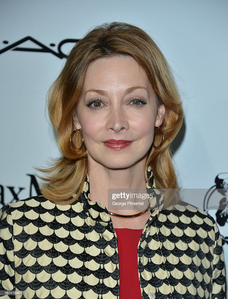 Actress Sharon Lawrence attends the 6th Annual Women In Film Pre-Oscar Party hosted by Perrier Jouet, MAC Cosmetics and MaxMara at Fig & Olive on February 22, 2013 in Los Angeles, California.