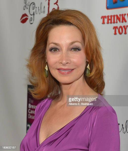 Actress Sharon Lawrence attends The National Breast Cancer Coalition Fund presents The 13th Annual Les Girls at the Avalon on October 7 2013 in...
