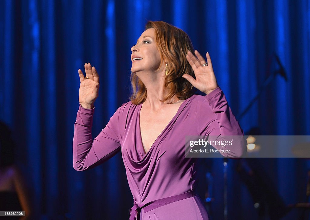 Actress <a gi-track='captionPersonalityLinkClicked' href=/galleries/search?phrase=Sharon+Lawrence&family=editorial&specificpeople=202246 ng-click='$event.stopPropagation()'>Sharon Lawrence</a> attends The National Breast Cancer Coalition Fund presents The 13th Annual Les Girls at the Avalon on October 7, 2013 in Hollywood, California.