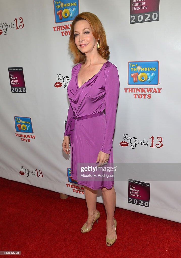 Actress Sharon Lawrence attends The National Breast Cancer Coalition Fund presents The 13th Annual Les Girls at the Avalon on October 7, 2013 in Hollywood, California.