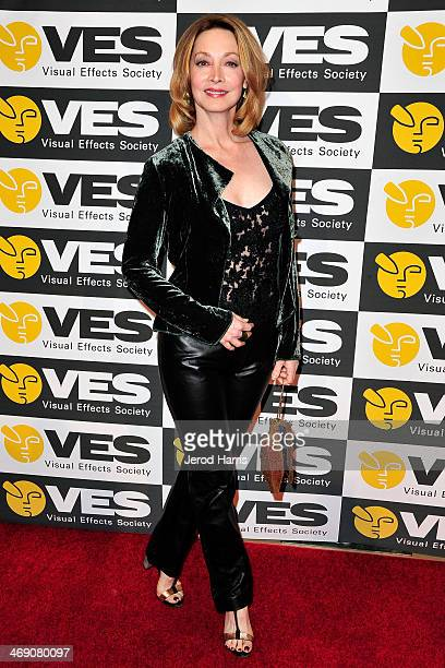 Actress Sharon Lawrence attends the Visual Effects Society's 12th Annual VES Awards at The Beverly Hilton Hotel on February 12 2014 in Beverly Hills...