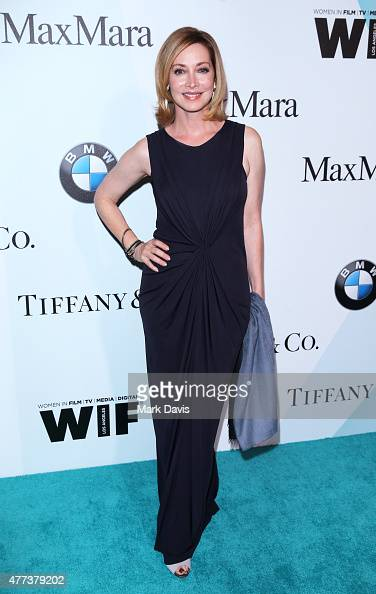 Actress Sharon Lawrence attends the Women In Film 2015 Crystal Lucy Awards Presented by Max Mara BMW of North America and Tiffany Co at the Hyatt...