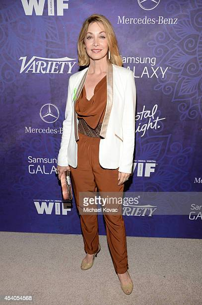 Actress Sharon Lawrence attends Variety and Women in Film Emmy Nominee Celebration powered by Samsung Galaxy on August 23 2014 in West Hollywood...