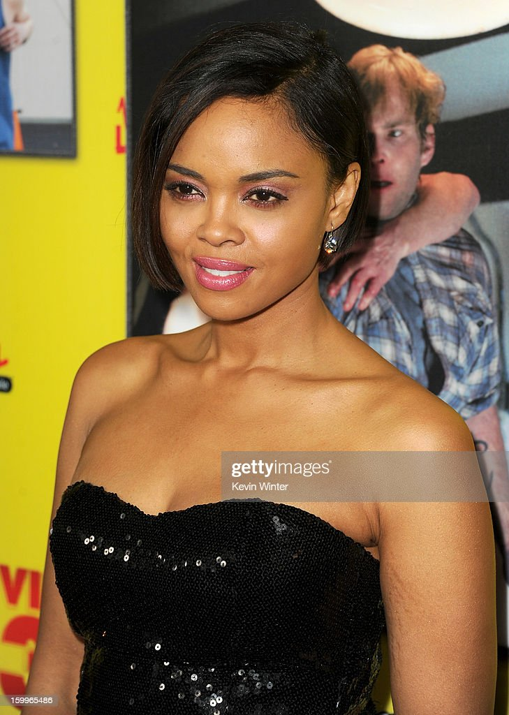Actress Sharon Leal attends the premiere of Relativity Media's 'Movie 43' at TCL Chinese Theatre on January 23, 2013 in Hollywood, California.