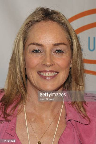 Actress Sharon Stone arrives at the 11th Annual Lupus LA Orange Ball held at the Beverly Wilshire Four Seasons Hotel on May 12 2011 in Beverly Hills...