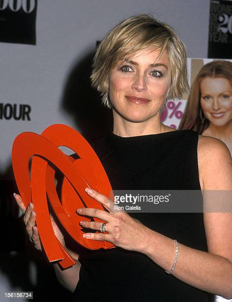 Actress Sharon Stone attends the 11th Annual Glamour Women of the Year Awards on October 23 2000 at the Metropolitan Museum of Art in New York City