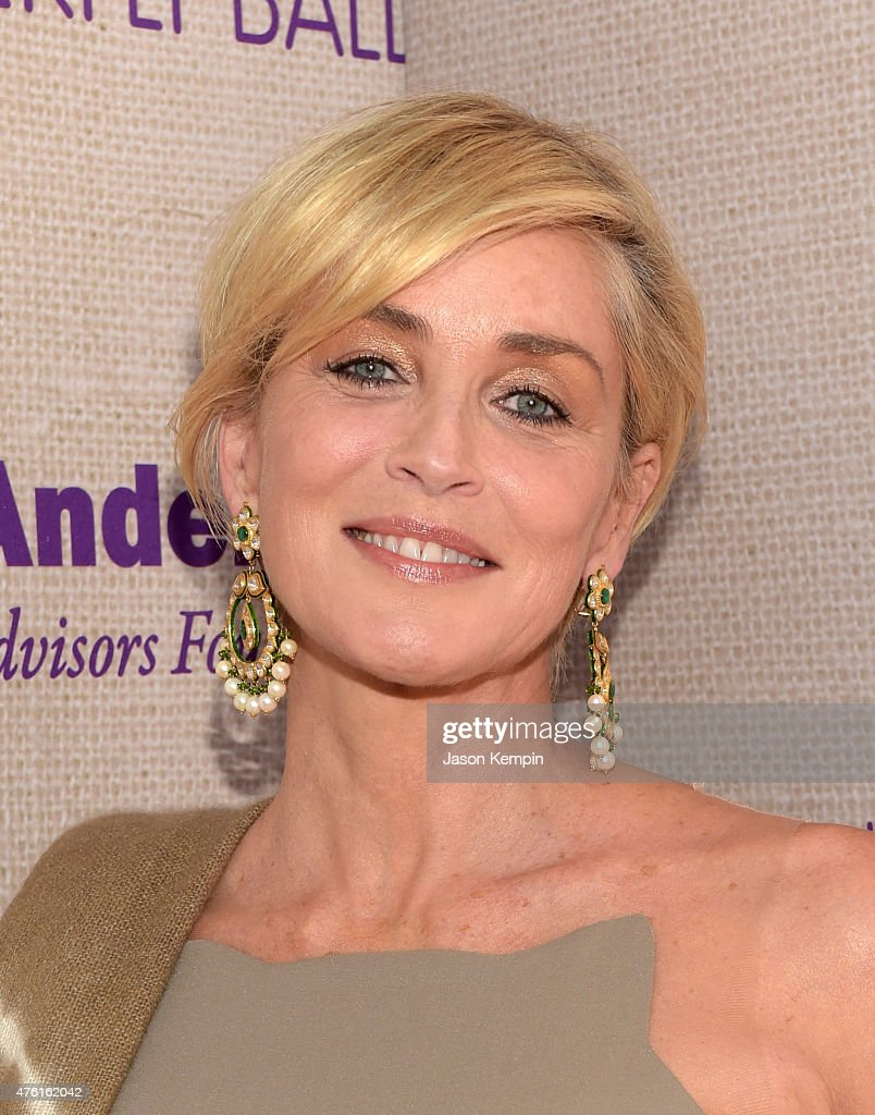 Actress <a gi-track='captionPersonalityLinkClicked' href=/galleries/search?phrase=Sharon+Stone&family=editorial&specificpeople=156409 ng-click='$event.stopPropagation()'>Sharon Stone</a> attends the 14th annual Chrysalis Butterfly Ball sponsored by Audi, Kayne Anderson, Lauren B. Beauty and Z Gallerie on June 6, 2015 in Los Angeles, California.