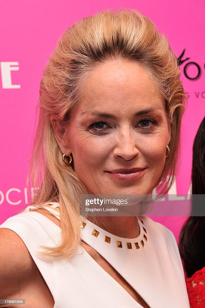 Actress <a gi-track='captionPersonalityLinkClicked' href=/galleries/search?phrase=Sharon+Stone&family=editorial&specificpeople=156409 ng-click='$event.stopPropagation()'>Sharon Stone</a> attends The Cinema Society and MCM with Grey Goose screening of Radius TWC's 'Lovelace' at MoMA on July 30, 2013 in New York City.
