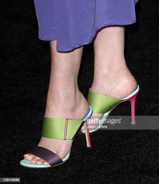 Actress Sharon Stone attends The Hollywood Reporter Big 10 party at The Getty House on February 24 2011 in Los Angeles California