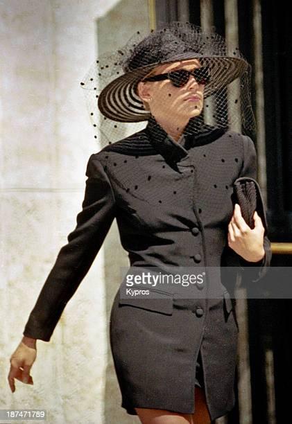 Actress Sharon Stone in Miami Florida circa 1992