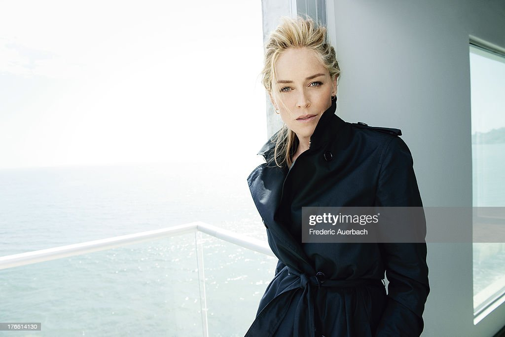 Actress <a gi-track='captionPersonalityLinkClicked' href=/galleries/search?phrase=Sharon+Stone&family=editorial&specificpeople=156409 ng-click='$event.stopPropagation()'>Sharon Stone</a> is photographed for Dior on October 1, 2011 in Malibu, California.