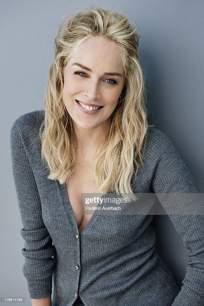 Actress Sharon Stone is photographed for Dior on October 1, 2011 in Malibu, California.