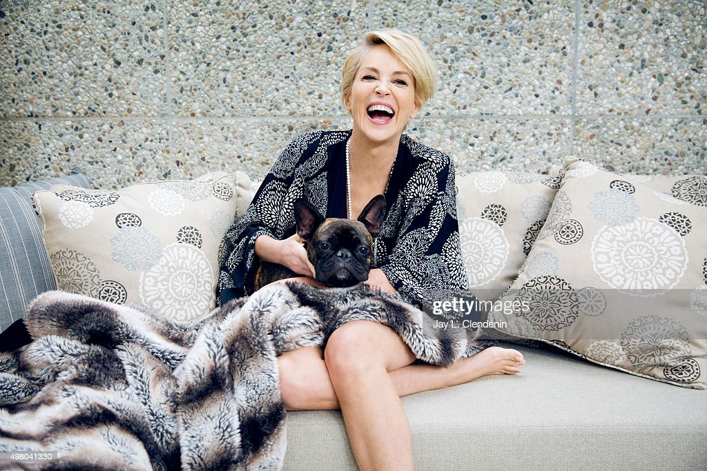 Actress <a gi-track='captionPersonalityLinkClicked' href=/galleries/search?phrase=Sharon+Stone&family=editorial&specificpeople=156409 ng-click='$event.stopPropagation()'>Sharon Stone</a> is photographed for Los Angeles Times on November 3, 2015 in Los Angeles, California. PUBLISHED IMAGE.