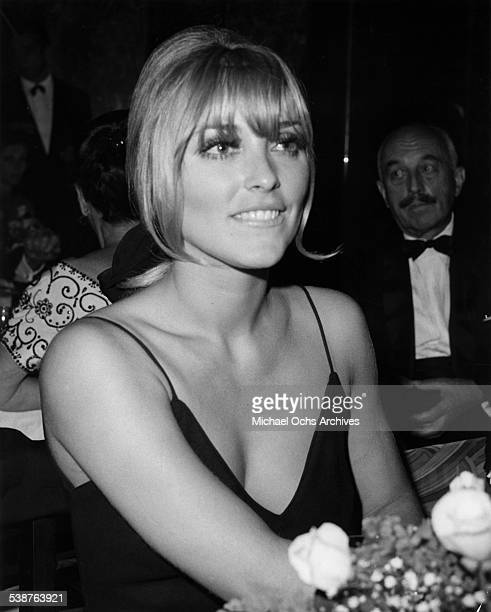 Actress Sharon Tate attends an event in Los AngelesCA