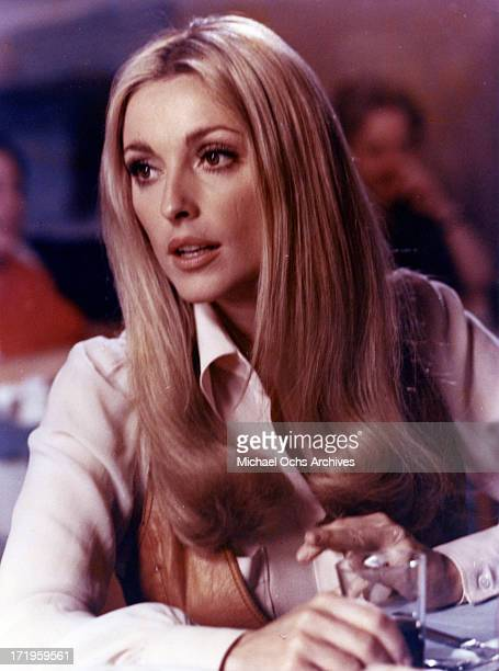 Actress Sharon Tate in a still from a movie in circa 1967