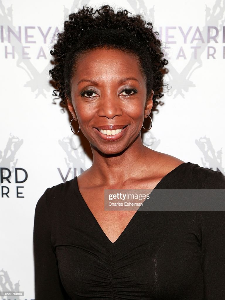 Actress Sharon Washington attends the off Broadway opening night of 'The North Pool' at Vineyard Theatre on March 6, 2013 in New York City.
