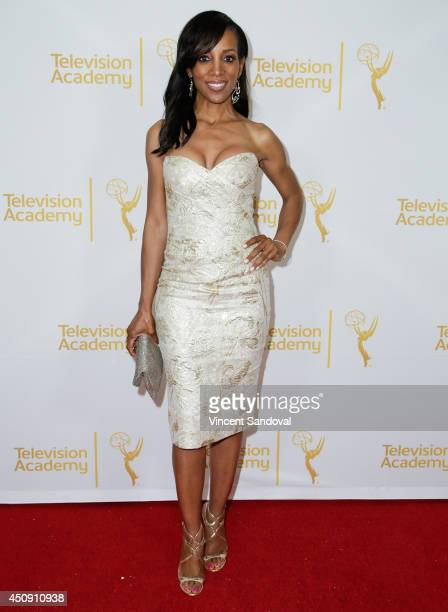 Actress Shaun Robinson attends the Television Academy Daytime Emmy Nominee reception at The London West Hollywood on June 19 2014 in West Hollywood...