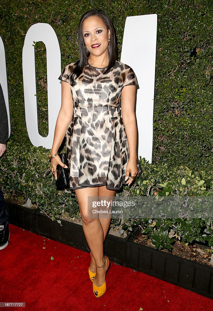 Actress Shaunie O'Neal attends 'The Weinstein Company Presents The LA Premiere Of 'Mandela: Long Walk To Freedom' Supported By Burberry' at ArcLight Hollywood Cinerama Dome on November 11, 2013 in Los Angeles, California.