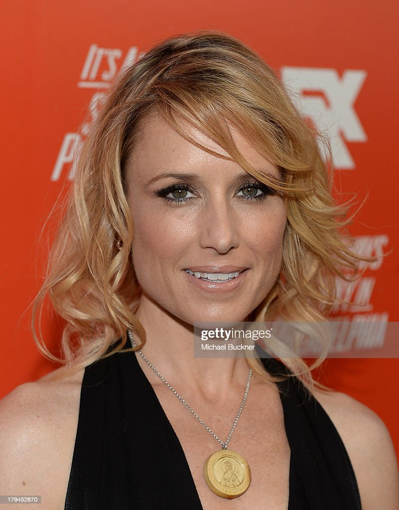 Actress <a gi-track='captionPersonalityLinkClicked' href=/galleries/search?phrase=Shawnee+Smith&family=editorial&specificpeople=156412 ng-click='$event.stopPropagation()'>Shawnee Smith</a> attends the premiere and launch party for FXX Network's 'It's Always Sunny In Philadelphia' and 'The League' at Lure on September 3, 2013 in Hollywood, California.
